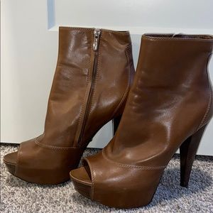 Sergio Rossi Platform Ankle Boots